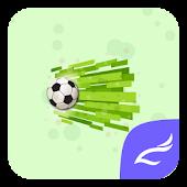 Football CM Launcher theme