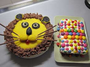 Photo: Birthday cakes for girls.
