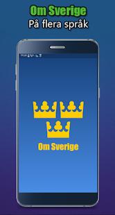 Om Sverige - náhled