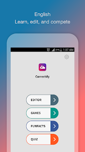 Correctify - Games and English Grammar Quiz - náhled