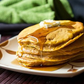 Pumpkin Creole Pancakes