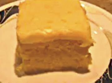 3 ingredient Creamsicle Cake Recipe