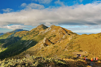 Photo: 山與雲的感動