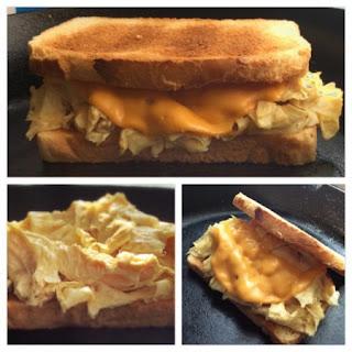 (I-Can't-Believe-It's-Not) Egg Sandwich