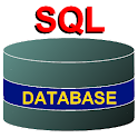 SQL relational database system icon