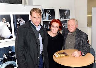 Photo: 5.2.2014 Ausstellungseröffnung Barbara Zeininger und Künstlergespräch Günther Groissböck. Foto: Axel Zeininger