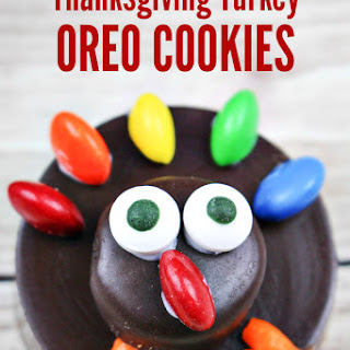 Easy Oreo Thanksgiving Turkey Cookies