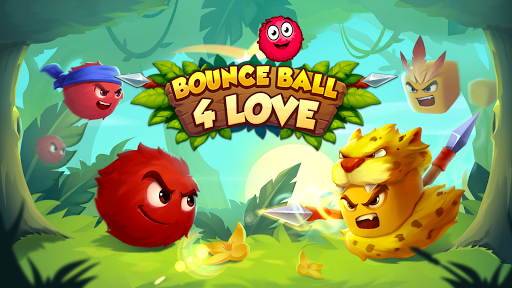 Bounce Ball 4 Love and Red Roller Ball 3 android2mod screenshots 1