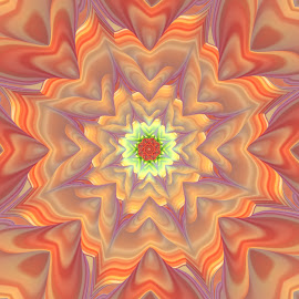 by Cassy 67 - Illustration Abstract & Patterns ( digital art, fractal art, fractal, digital, flower, mandala )