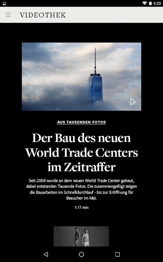 WELT Edition Digitale Zeitung- screenshot
