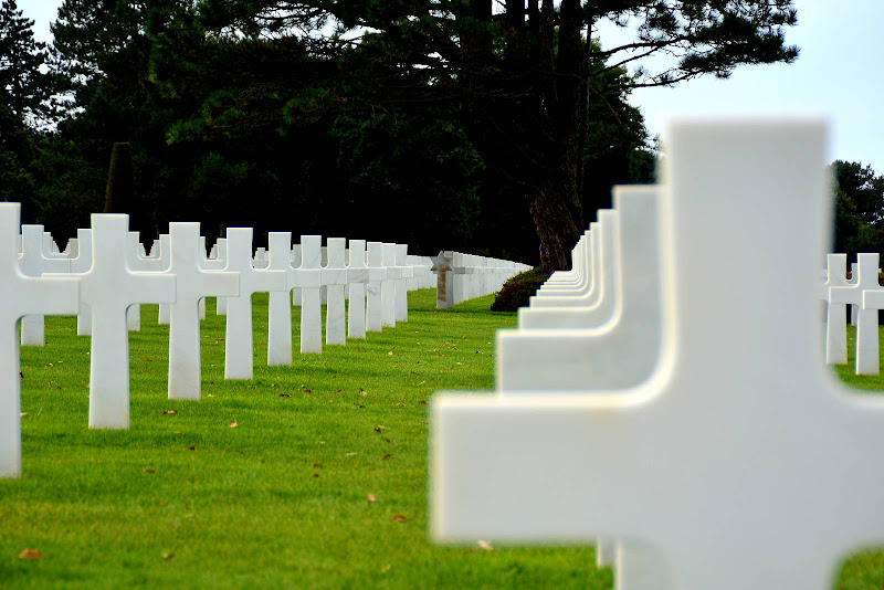 Normandy American Cemetery di alegio89