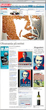 Photo: The Obamafy plugin in a norwegian news paper.