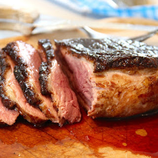 Maple Glazed Magret de Canard (Duck Breasts).