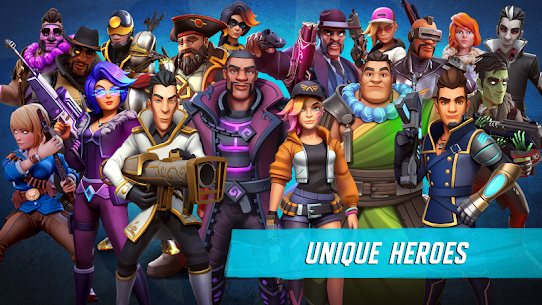 Heroes of Warland – Online 3v3 PvP Action Apk Download For Android and Iphone 7