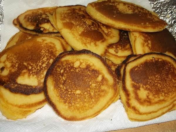 Old-fashioned Cornmeal Pancakes (small Batch) Recipe