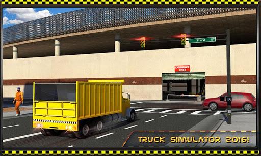 多层货车停车场3D