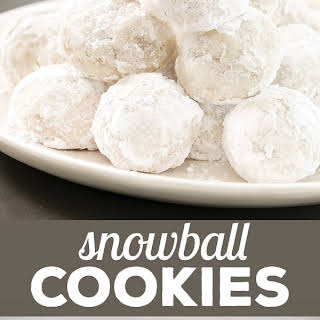 Gluten Free Snowball Cookies.