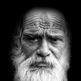 by Elli Kraizberg - People Portraits of Men ( senior citizen, pwcemotions-dq,  )