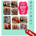DIY nail art designs Icon