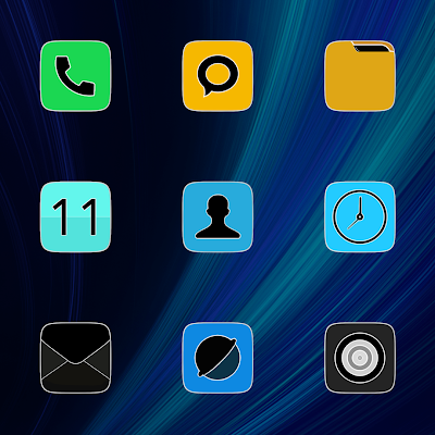 MIUI FLUO - ICON PACK Screenshot Image