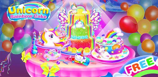 Making Unicorn Rainbow Cake Game Memasak Anak Revenue