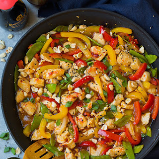 Szechuan Chicken Stir-Fry.