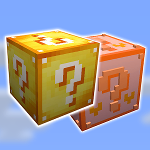 Lucky Blocks Mod for Pocket Edition for PC