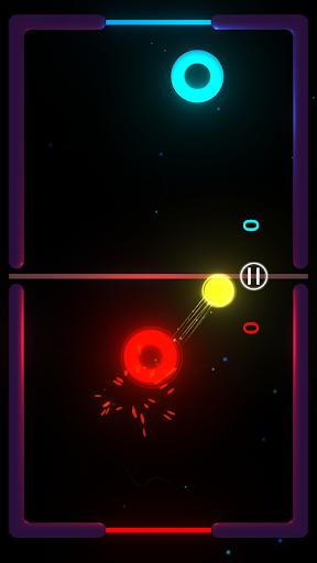 Télécharger Gratuit Air Hockey Galaxy - Multiplayer Retro Arcade Game APK MOD (Astuce) screenshots 1