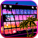 Sunset Beach 2 Keyboard Theme icon
