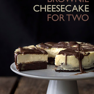 Brownie Cheesecake for Two