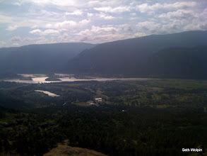 Photo: Cascade Locks and Bonneville Dam