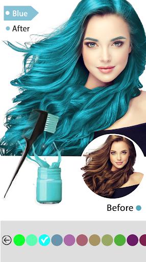 Easy Hair Color Changer 1.0.0 screenshots 5