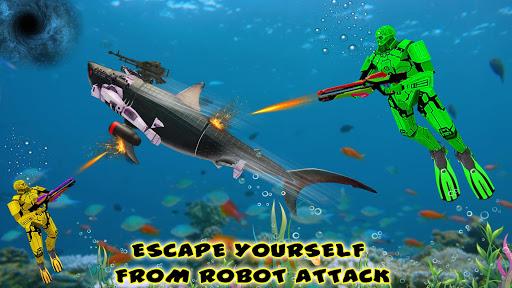 Shark Robot Transformation - Robot Shark Games 1.1 screenshots 5