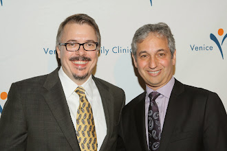 Photo: BEVERLY HILLS, CA - MARCH 03:  Producers Vince Gilligan (L) and David Shore attend the Venice Family Clinic's 35th Annual Silver Circle Gala held at The Beverly Hilton Hotel on March 3, 2014 in Beverly Hills, California.  (Photo by Mike Windle/Getty Images for VFC)