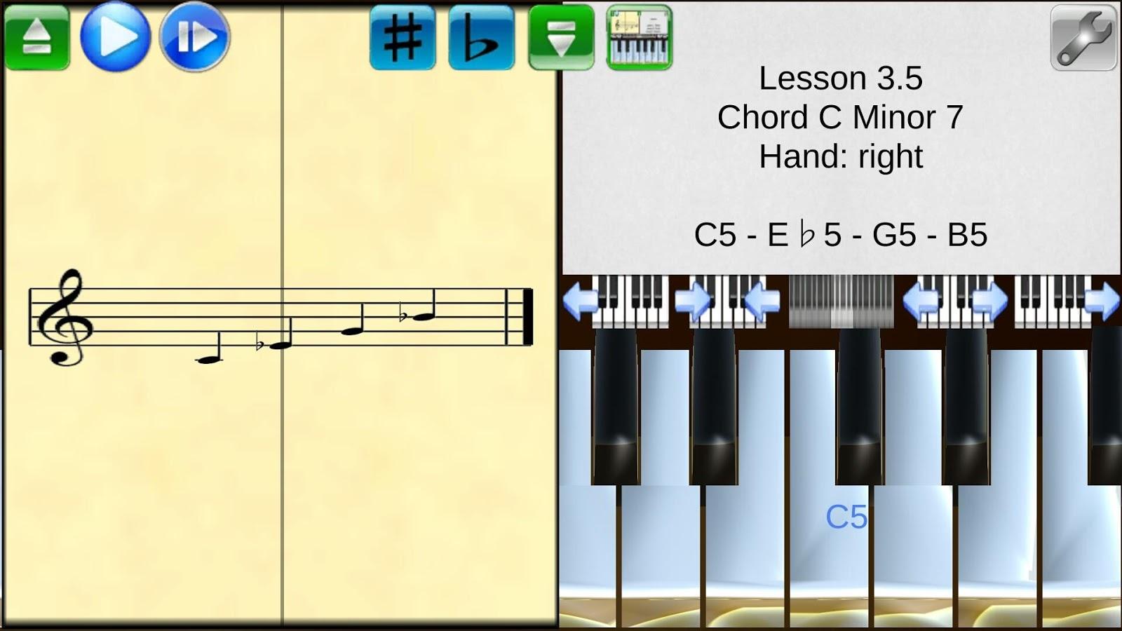 Piano studio android apps on google play piano studio screenshot hexwebz Choice Image