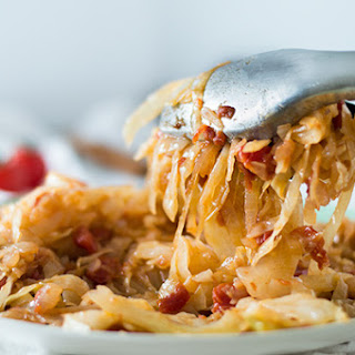 Spicy Shredded Cabbage.