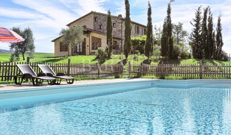 Villa with pool and garden Castellina Marittima
