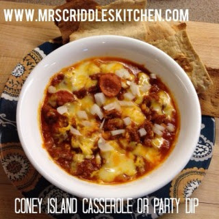 Coney Island Casserole or Party Dip.