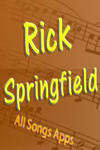 All Songs of Rick Springfield