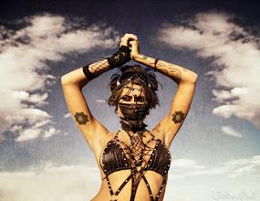 Photo: Pilgrims of Black Rock City, Portrait Series. The Reverie of the Desert Nymph. Copyright: Catherine Hall Studios.
