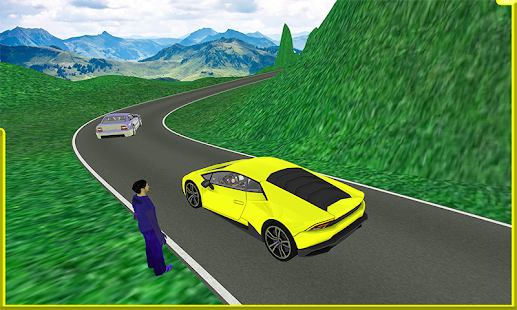 Modern Taxi Crazy Driver 3d Sim:hill station 2018 - náhled