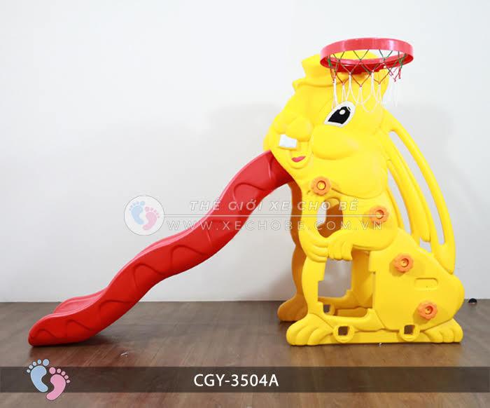 Cầu trượt cho bé hình thỏ YGC-3504A 1