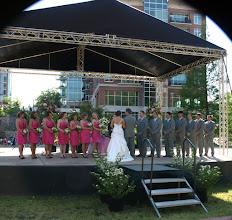 Photo: Peace Center Amphitheater at Larkin's on the River -  Greenville, SC - 4/11 - http://WeddingWoman.net