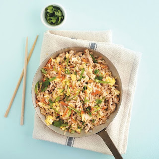 Tangy Fried Rice With Pork.