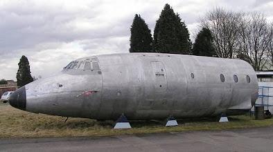 Photo: Forward fuselage of G-ANCF at Kemble.