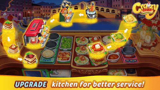 Game Crazy Chef: Craze Fast Restaurant Cooking Games APK for Windows Phone