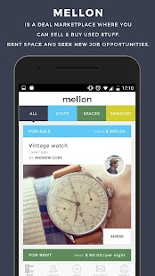 Mellon:Buy and Sell & Rent - Friend's Marketplace- screenshot thumbnail