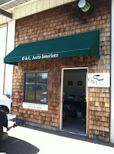 Photo: G&L Auto Interiors in Eliot, ME proudly displaying their BBB Accreditation
