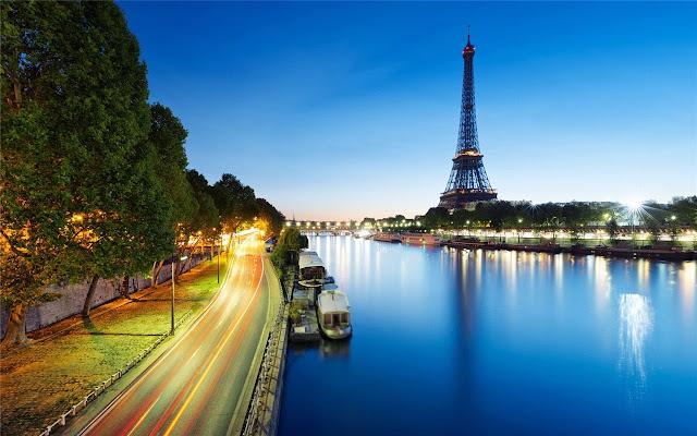 La Tour Eiffel Theme & New Tab
