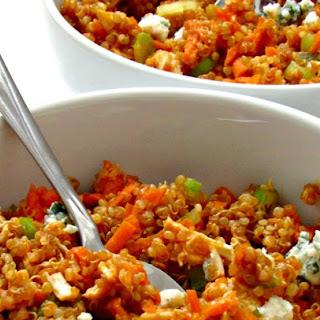 Buffalo Chicken Quinoa Bowl Recipe